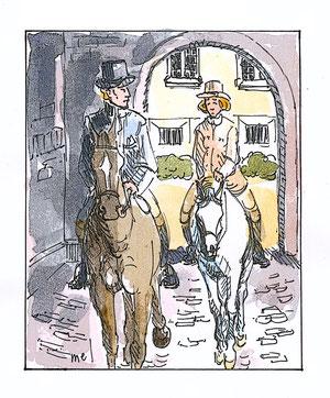 Genèse de l'ouximer - A cheval !