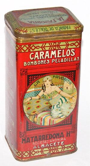 Matarredona Caramelos Container
