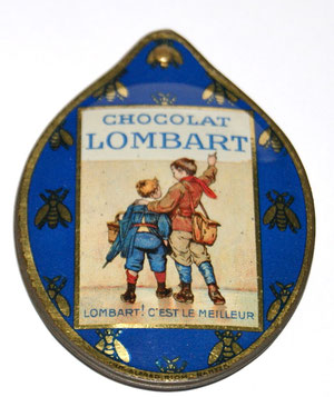 Chocolat LOMBARD Werbe-Spiegel