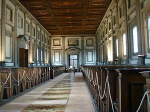 Biblioteca Medicea Laurenziana a Firenze