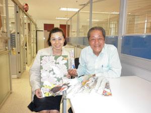 Mr. Toshio NOMURA (right)