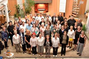 TeilnehmerInnen der 30. Werkwoche 2017 - Bild per Klick vergrößerbar