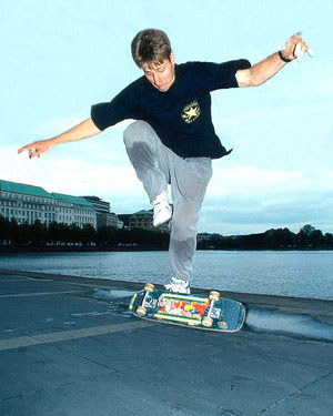 Rodney Mullen. Frontfoot Impossible