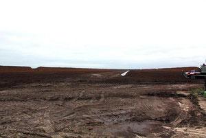 So sieht ein abgetorftes Moor aus, Fotos H. Lobensteiner
