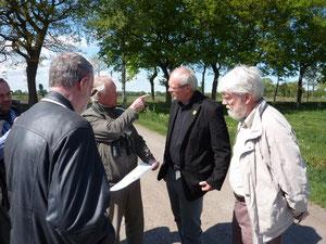 Mit MdL Klein im Hankhauser Moor, Foto H. Erhardt