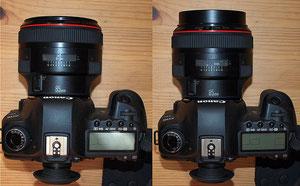 Canon EF 85/1.2 L
