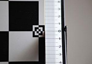 Небольшой фронт-фокус на 300 мм
