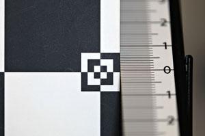 Незначительный бэк-фокус и отсутствие окраски зон вне фокуса
