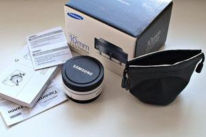 Samsung NX 10/3.5 Fisheye i-Fn