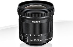 Canon EF-S 10-18/4.5-5.6 IS STM (с сайта компании)