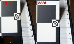 Фронт фокус на 12 мм