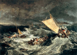 William Turner, The Shipwreck