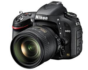 Nikon D610 (с сайта компании)