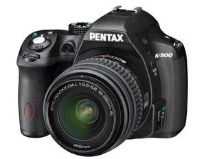 Pentax K-500 (с сайта компании)