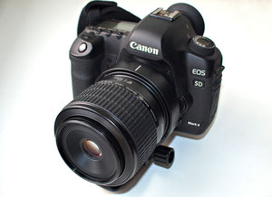 Canon MP-E 65/2.8 1-5x Macro