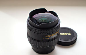 Tokina AT-X 10-17/3.5-4.5 DX fisheye