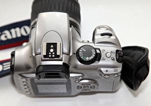 Canon EOS 300D вид сверху