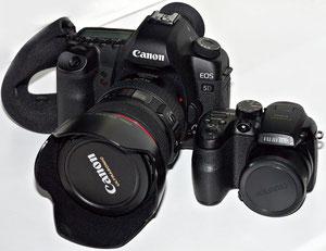 Рядом с Canon EOS 5D