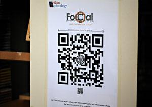 Одна из тестовых таблиц Reikan FoCal