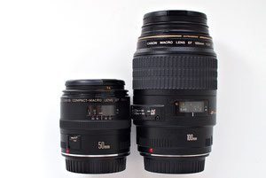 Canon EF 50/2.5 compact macro
