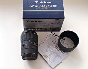 Tokina 100/2.8 AT-X Pro D macro