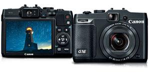 Canon G16 (с сайта Canon)