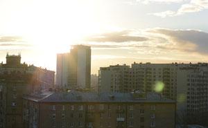 Солнце в кадре