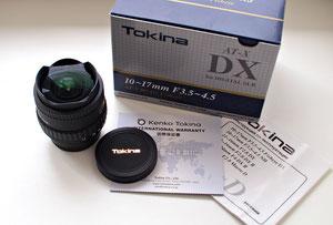 Tokina AF 10-17/3.5-4.5 AT-X DX Fisheye