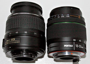 Pentax DA 18-55/3.5-5.6 WR