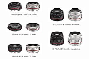 Обновленные Pentax DA объективы (с сайта Pentax)
