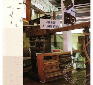 presse ancienne du moulin de vallis clausa