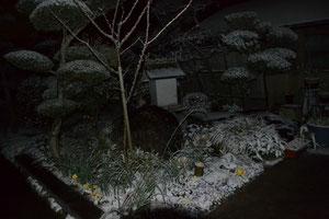 20130127 冬季雷と上津橋地区の初積雪