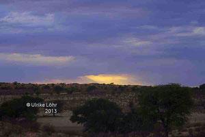Ausblick vom Kalahari Tented Camp