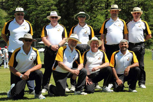A 'pride' of umpires at Zuoz 2012