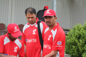 Swiss T20 captain Sajid Safiat Ullah (Power CC)