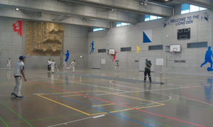 Indoor hall at ZIS Adliswil