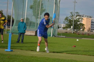 Introduction to cricket for Kantonschule Wil/SG (26.9.2012)