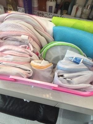 大阪・兵庫の家事代行サービスのハウスクリーニングで洗濯物ネットafter