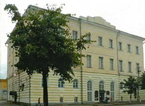 Здание где находится салон