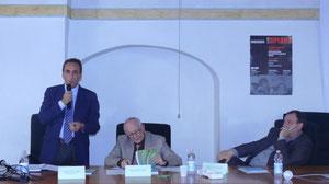Carlo Lepri, presentazione del Protocollo,  Belluno Ottobre 2009
