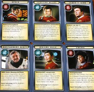 Star Trek Charakter-Karten