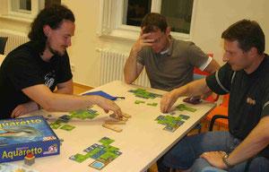 Aquaretto auf dem Pankower Spieleabend