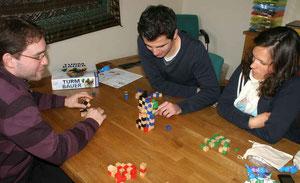Turmbauer bei den Panke-Spielern