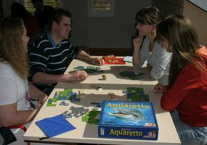 Aquaretto auf dem 1. Pankower Spielefest