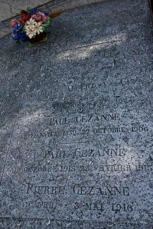 Cézanne family tomb Aix-en-Provence