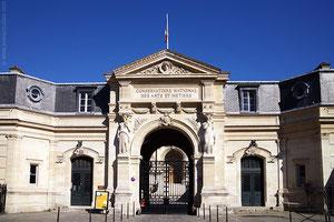 Le Conservatoire National des Arts et Métiers
