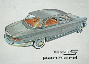 Publicité Panhard pour la Relmax Tigre