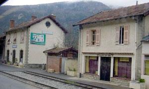 Buffet de la gare d'Annot (Alpes de Haute Provence)