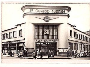 Gare routière de Caen façade