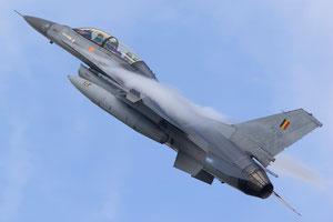 F-16BM della componente aerea belga. (Foto. USAF)